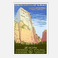 1930s Vintage Zion National Park Postcards (Packag