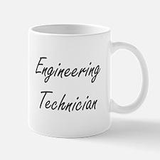 Engineering Technician Artistic Job Design Mugs