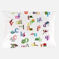 I Learn The Alphabet Pillow Case