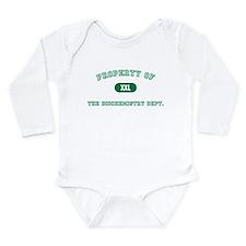 Cute Biochemistry Long Sleeve Infant Bodysuit