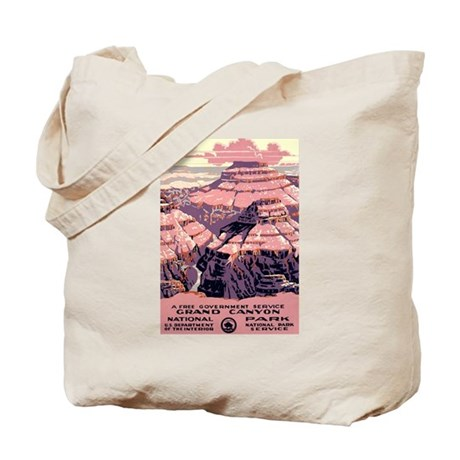1930s Vintage Grand Canyon National Park Tote Bag