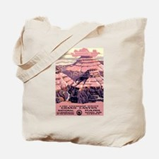 1930s Vintage Grand Canyon National Park Tote Bag