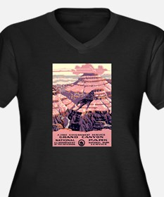 1930s Vintage Grand Canyon National Park Women's P
