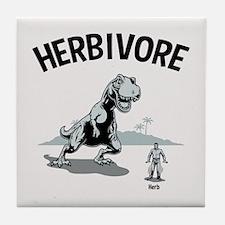 Herbivore II Tile Coaster