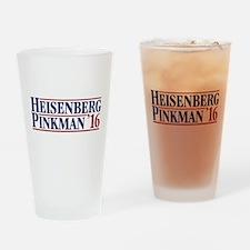 Heisenberg Pinkman '16 Drinking Glass