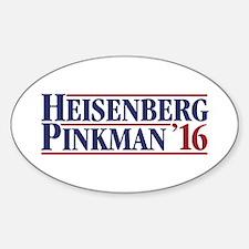 Heisenberg Pinkman '16 Decal