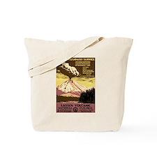 1930s Vintage Lassen Volcanic National Park Tote B