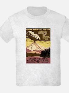 1930s Vintage Lassen Volcanic National Park T-Shirt