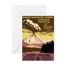 1930s Vintage Lassen Volcanic Greeting Card