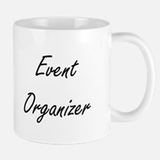 Event Organizer Artistic Job Design Mugs