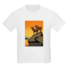 1930s Vintage Preserve Wildlife WPA Poster T-Shirt