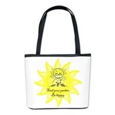 Tend Your Garden Bucket Bag
