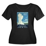 1930s Vintage Yellowstone National Park Women's Pl