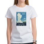 1930s Vintage Yellowstone National Park Women's T-