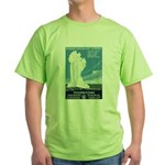 1930s Vintage Yellowstone National Park Green T-Sh
