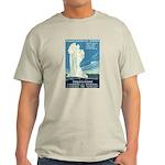 1930s Vintage Yellowstone National Park Light T-Sh