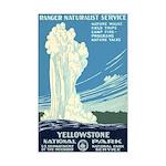 1930s Vintage Yellowstone National Park Mini Poste
