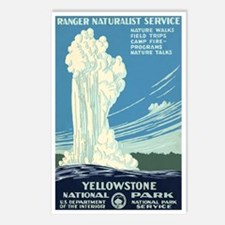 1930s Vintage Yellowstone National Park Postcards