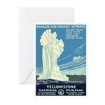 1930s Vintage Yellowstone Greeting Cards (Pk of 10