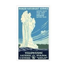 1930s Vintage Yellowstone National Park Decal