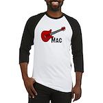 Guitar - Mac Baseball Jersey