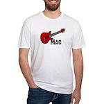 Guitar - Mac Fitted T-Shirt