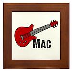 Guitar - Mac Framed Tile