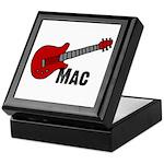 Guitar - Mac Keepsake Box