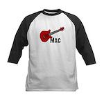 Guitar - Mac Kids Baseball Jersey