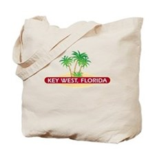 Key West Palms - Tote Beach Bag