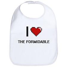 I love The Formidable digital design Bib