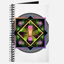 Rainbow Exclamation Journal