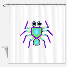 Non-Round Designs Shower Curtain
