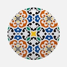 Morocco Round Ornament