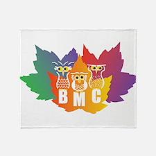 Funny Birdwatching Throw Blanket