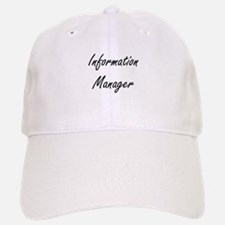 Information Manager Artistic Job Design Baseball Baseball Cap