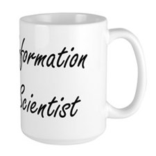 Information Scientist Artistic Job Design Mugs