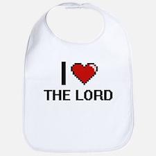 I love The Lord digital design Bib