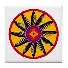 Cool Native american religions Tile Coaster
