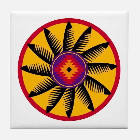 St vitus religion beliefs Tile Coaster