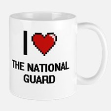 I love The National Guard digital design Mugs