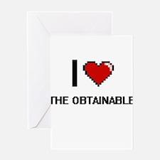 I love The Obtainable digital desig Greeting Cards