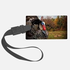 autumn landscape country turkey Luggage Tag