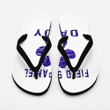 Field Spaniel Daddy Designs Flip Flops