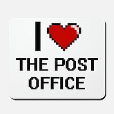 I love The Post Office digital design Mousepad