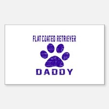 Flat-Coated Retriever Daddy De Decal