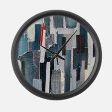 Mad about Denim Large Wall Clock