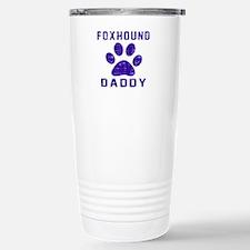 Foxhound Daddy Designs Stainless Steel Travel Mug