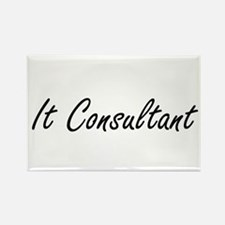 It Consultant Artistic Job Design Magnets