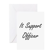 It Support Officer Artistic Job Des Greeting Cards